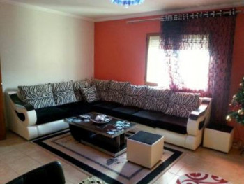 Two bedroom apartment for rent in Frosina Plaku Street in Tirana. The apartment is situated in a ver