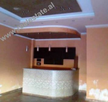 Coffee bar for sale close to Ferrari Hotel in Tirana. The bar is situated on the first floor of the