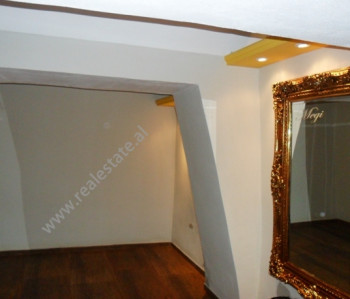 Store space for rent in Fortuzi Street in Tirana. The store is located on the first floor of an exi