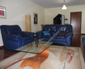 Two bedroom apartment for rent in Nikolla Tupe Street in Tirana. The apartment is located on