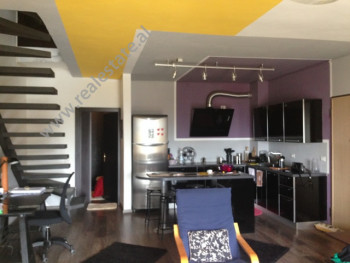Duplex apartment for rent in Kodra e Diellit Residence in Tirana.