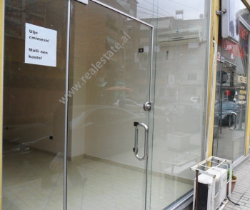 Store space for rent in Pjeter Budi Street in Tirana.