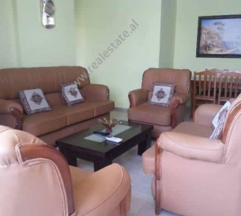 Two bedroom apartment for rent in Grigor Gjirokastriti Street in Tirana. The apartment is situated