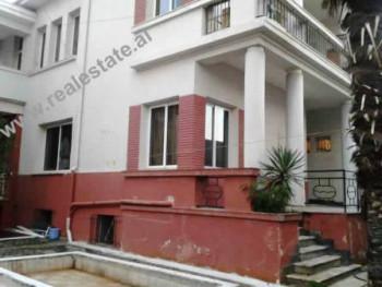 Three storey villa for sale near Train Station in Tirana. The villa is located in a well known area