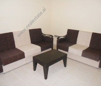 One bedroom apartment for rent in Reshit Collaku Street in Tirana. The apartment is located on the s