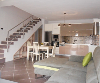Duplex modern apartment for rent in Kodra e Diellit Residence in Tirana. The apartment is situated