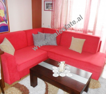Duplex apartment for rent in Milan Shuflaj Street in Tirana.