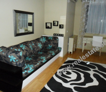 One bedroom apartment for rent in Bardhok Biba Street in Tirana.