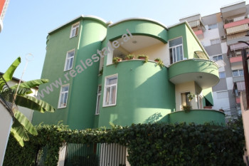 Three Storey Villa for rent in Bilal Golemi Street in Tirana.  The terrace is large and can be use