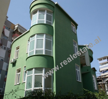 Three Storey Villa for sale in Bilal Golemi Street in Tirana. The terrace is large and can be used