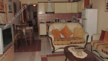 Three bedroom apartment for rent in Ismail Qemali street in Tirana. The flat is situated on the fir