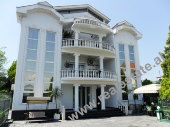 Modern villa for rent near Casa Italia Shopping Center in Tirana.