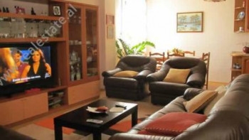 Three bedroom apartment for sale in Blloku area in Tirana. The apartment is situated in one of the