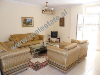 Three bedroom apartment for rent in Reshit Collaku Street in Tirana.