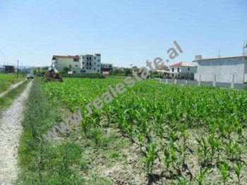 Land for sale in Altruisti Street in Tirana.