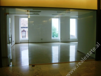 Store space for rent in the Center of Tirana City. The space is situated on the first floor of the