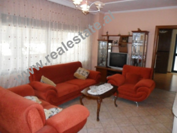 Two bedroom apartment for rent in Him Kolli Street in Tirana. The apartment is situated on the 4-th