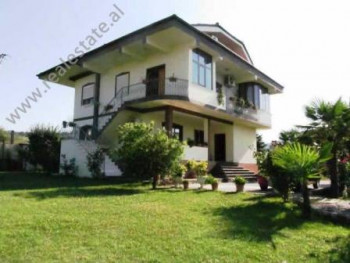 Villa for rent in Memo Bejko Street in Tirana.