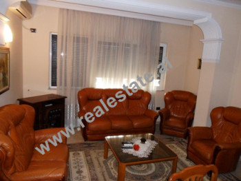 Two bedroom apartment for rent in Elbasani Street in Tirana. The apartment is situated on the 7-th