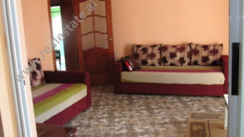 Apartment for rent in Jeronim De Rada Street in Tirana. The apartment has 110 m2 living space, posit