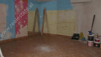 Store space for sale close to Dibra Street in Tirana. The store is situated on the basement floor o