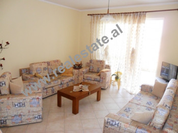 Apartment for rent in Mujo Ulqinaku Street.The flat is situated on the 8-th floor in a new building