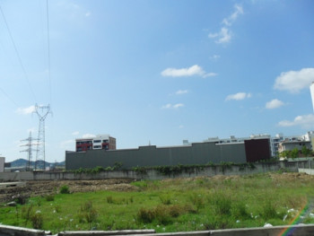 Land for sale near Industriale Street in Tirana.