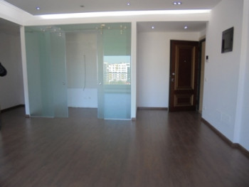 Office space for rent in Tirana.The space includes the half part of the 7th floor of a new complex b