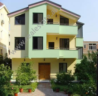 Villa for rent close to German villas in Tirana.This is how this area is known in the city, because