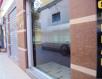 Store space for sale in the beginning of Durresi Street in Tirana.The property is 30sqm, but the own
