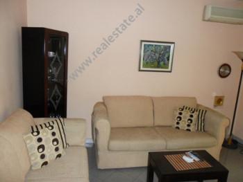 One bedroom apartment for rent at the beginning of Mehmet Brocaj Street in Tirana. The flat is situ