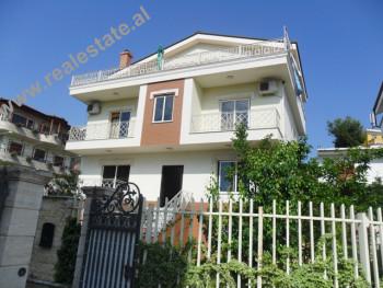 Three storey villa for sale in 3 Velezerit Kondi Street in Tirana. It is a good area, just a few me