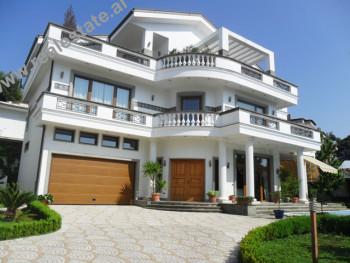 Luxury villa for sale in 3 Vellezerit Kondi Street in Tirana. The villa is located in a quiet area