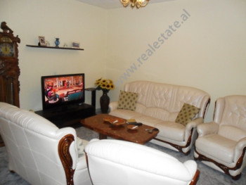 Three bedroom apartment for rent in Besim Imami Street in Tirana. It is situated on the 4-th floor
