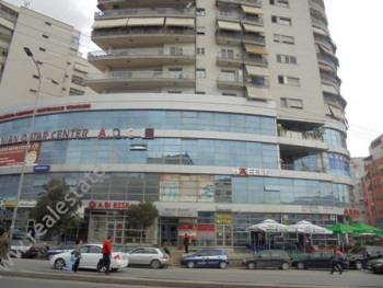 Business store for rent in Zogu i Zi Area in Tirana. The store is situated on the first floor of a b