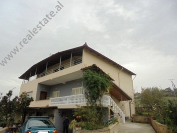 Villa for rent in Mjull-Bathore area in Tirana.The particularity of this property is the courtyard a