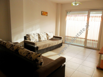 Apartment for rent at the beginning of Dritan Hoxha Street in Tirana. It is situated on the upper f