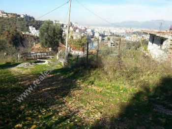 Land for sale in Garunjes Street in Tirana.