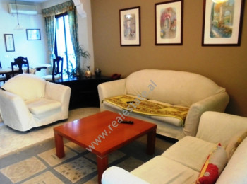 Two bedroom apartment for rent in Blloku area in Tirana. The apartment is located in one of the most