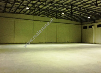 Warehouse for rent in Durres - Tirana Highway.It is situated on the side of the highway, easy access