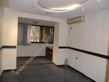 Office space for rent close to Kinema Agimi in Tirana. It is situated on the 2-nd floor in an old b