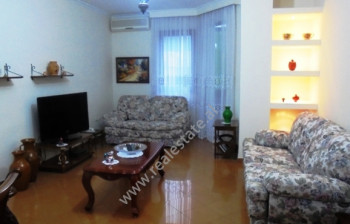 Apartment for rent in Donika Kastrioti street in Tirana.It is situated on the 4-rth floor of a new b