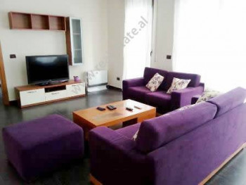 Two bedroom apartment for rent in Ibrahim Rugova Street in Tirana. It is located on the 4-th floor