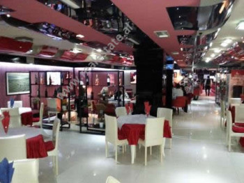 Modern Coffee Bar and Restaurant for rent in Tirana. It has 500 m2 of total space divided in: 1- O