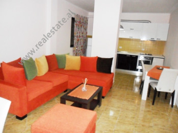 Apartment for rent in Vllazen Huta Street in Tirana.