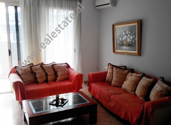 Apartment for rent in Marko Bocari Street in Tirana. It is situated on the 9-th floor in a new buil