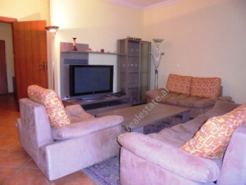Modern apartment for rent in Bllok area in Tirana. With a space of 200 m2 situated in the 8th floor