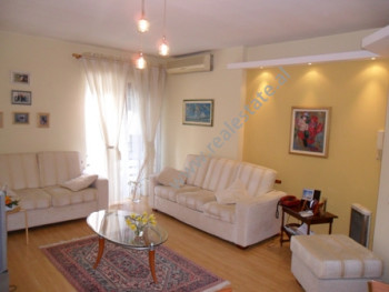 Apartment for rent in Bogdaneve Street in Tirana. It is situated on the 3-rd floor in a new buildin