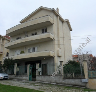 Villa for sale in Pasho Hysa Street in Tirana. It is located on the side of the main street, in one