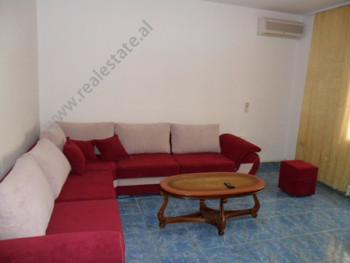 Apartment for rent in Faik Konica Street in Tirana. It is situated on the 2-nd floor in a 2-storey